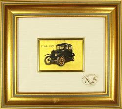 COLLECTIBLE LIMITED CERTIFIED 23KT GOLD LEAF FORD 1908