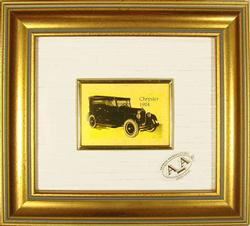 COLLECTIBLE LIMITED CERT. 23KT GOLD LEAF CHRYSLER 1924
