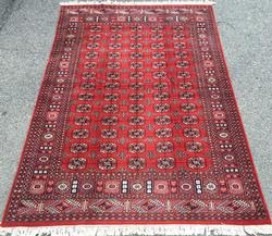 Extremely Fine Authentic Handmade Princess Bokhara Rug