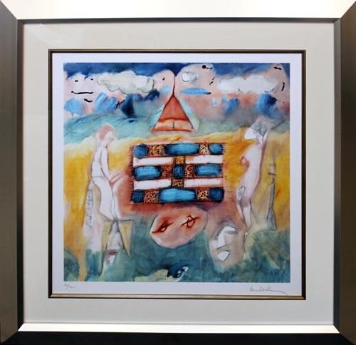 PAUL MCCARTNEY HAND SIGNED LITHOGRAPH