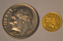 Rarity  5 1869 G BG827  25 C BU  Califirnia Gold Token