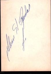 Glenn Randall Jr. Autographed Signed Cut Indiana Jones