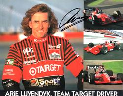 Arie Luyendyk Autographed Signed Team Target 8x10 Photo