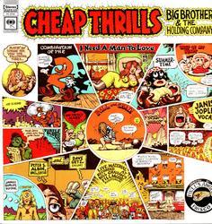 Cheap Thrills Peter Albin Autographed Signed Album LP