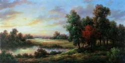 Beautiful Mayhuay Pond In The Field Original