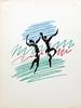 Pablo Picasso Lithograph 'The Dance' Circa 1956