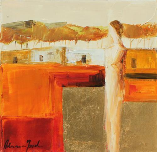 Adriana Naveh Fantastic Original Acrylic On Canvas