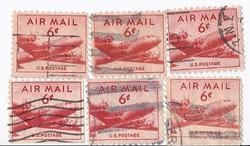 1949 AIRMAIL STAMP LOT