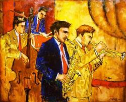 Wonderful Joarez Filho Jazz Quartet Acrylic