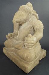 HUGE GANESH (Ganesha) Statue of Hindu God to Overcome Obstacles