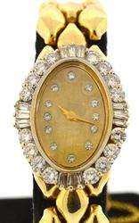 Very Elegant Ladies 2 CTW VS2 G-H Diamond Bezel Watch
