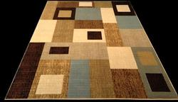 Decorative Contemporary Design Area Rug 8x11