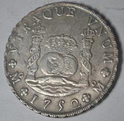 Sharp 1752 Mexico Pillar Dollar Mexico City