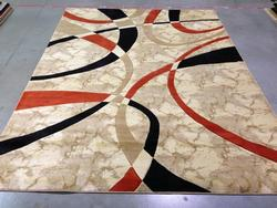 Artistic Carved Modern Design  Area Rug 6x8