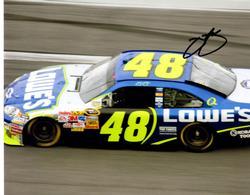 JIMMIE JOHNSON AUTOGRAPHED SIGNED NASCAR 48 PHOTO