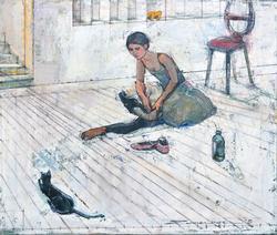 Zwarenstein Museum Artist Amazing Original Oil