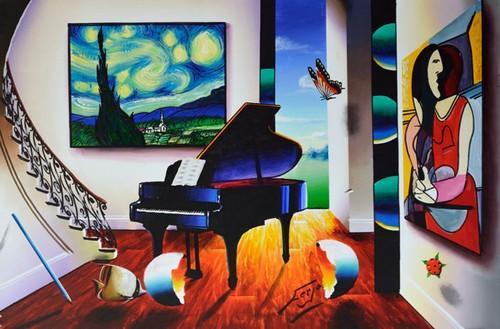 Ferjo Swirling Stars With Piano Original
