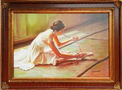 Original Oil On Canvas, Signed