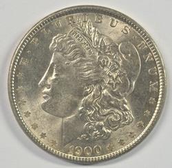 Great Very Lovely BU 1900-P Morgan Silver Dollar