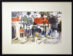 Robert Hiram Meltzer Original Watercolor