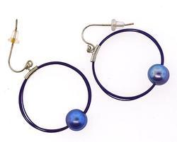Sterling Silve Pearl Earrings