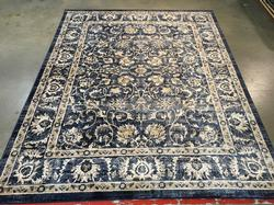Magnificent Traditional Vintage Reproduction Rug 8x11