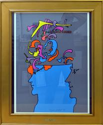 Peter Max Printer's Proof Hand Signed Serigraph