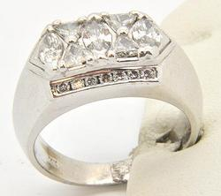 Gents 14kt Gold 2.5+ctw Diamond Ring, Great Quality