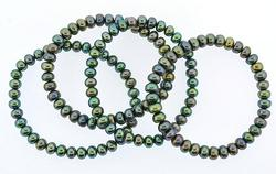 Group Lot of Gemstone Bracelets