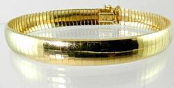 Popular 14kt Yellow Gold Flex Bangle