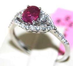 18kt Gold, Ruby, & Diamond Cocktail Ring