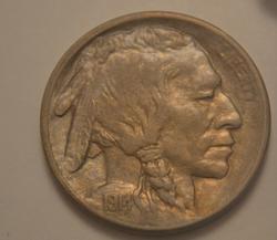 1914-S  Uncirculated Buffalo Nickel