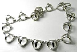 Popular Designer 18k White Gold Bracelet