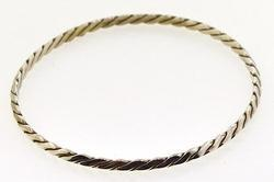 Classic Sterling Bangle By Tiffany & Co