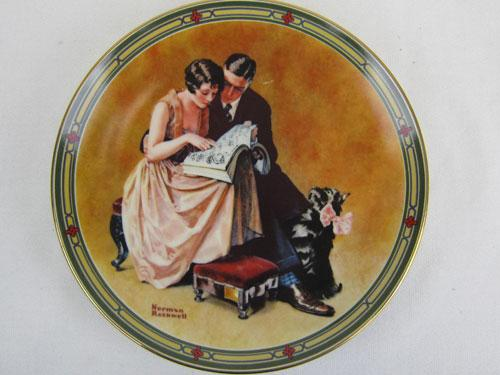 A Couples Commitment by Norman Rockwell