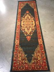 Timeless Classic Geometric Kazak Design 8 Ft Runner