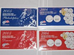 14 Mint Sets - 2004 & 2005 includes Denver & Philadelphia