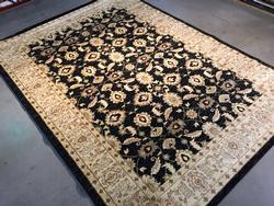 Stylish Antique Reproduction Ushak Design 8x10 Rug