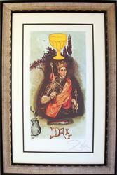 Hand Signed Dali Lithograph