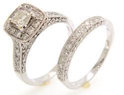 Princess Diamond Bridal Set