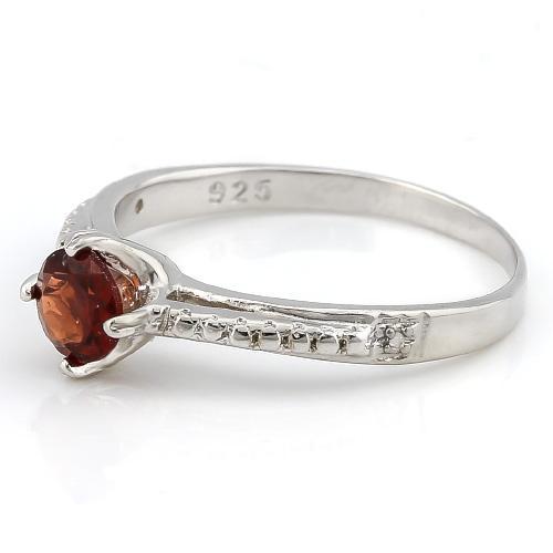 sterling silver garnet ring. Black Bedroom Furniture Sets. Home Design Ideas
