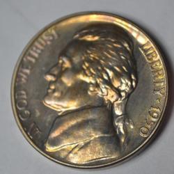 Gem Proof 1950 Jefferson Nickel