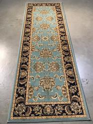 Detailed Traditional Oushak Design 3x8 Runner