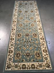 Detailed Traditional Oushak Design 3x11 Runner