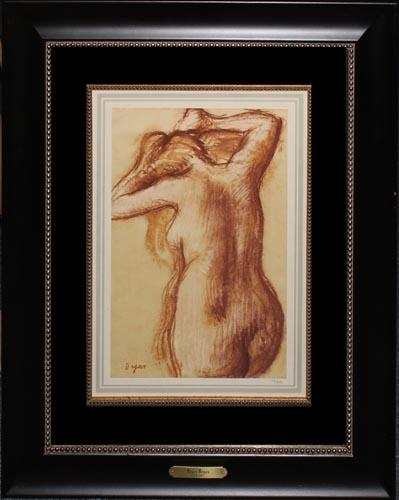 COLLECTIBLE 1922 DEGAS HELIOGRAVURE ON PAPER