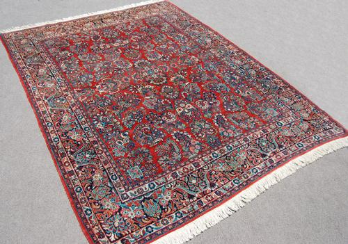 Masterpiece Handmade Antique Persian Sarouk 9x12