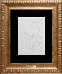 WELL DONE HENRI MATISSE OFFSET LITHOGRAPH FROM 1943