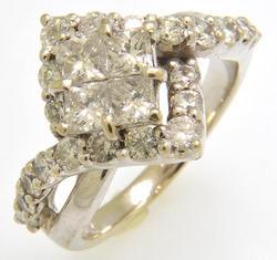 2 CTW Diamond Engagement Ring