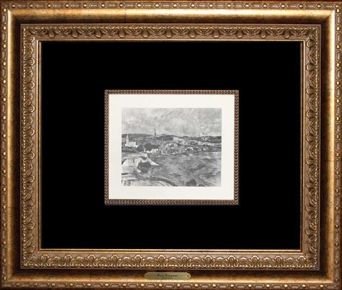 Limited Edition Heliogravure On Paper, Cezanne