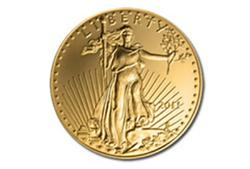 2011 1/10th Oz US Gold Eagle $5